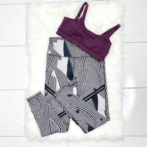 Mono B Pants & Jumpsuits - NWT Mono B | Workout Set Leggings and Sports Bra
